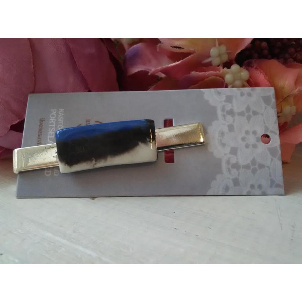 235b4a64efa Sini-must-valge lipsunõel