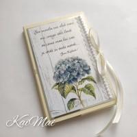 """Šokolaaditasku luuletusega """"Hortensia"""""""