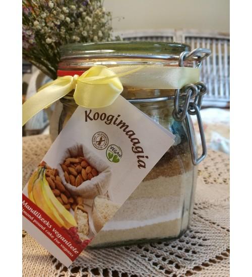 Koogisegu mandlikeeks veganitele (gluteenivaba)