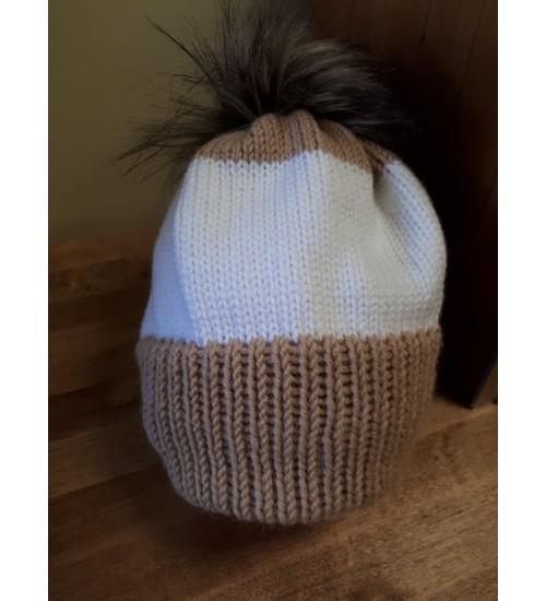 Beezi ja valgega tutimüts 56-58cm