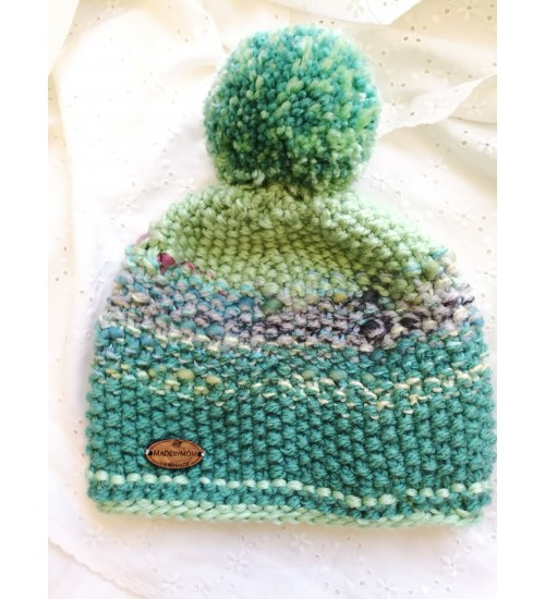 Pisike roheline tutimüts lastele