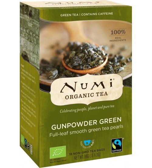 """ÖKO Numi roheline tee """"Gunpowder green"""""""
