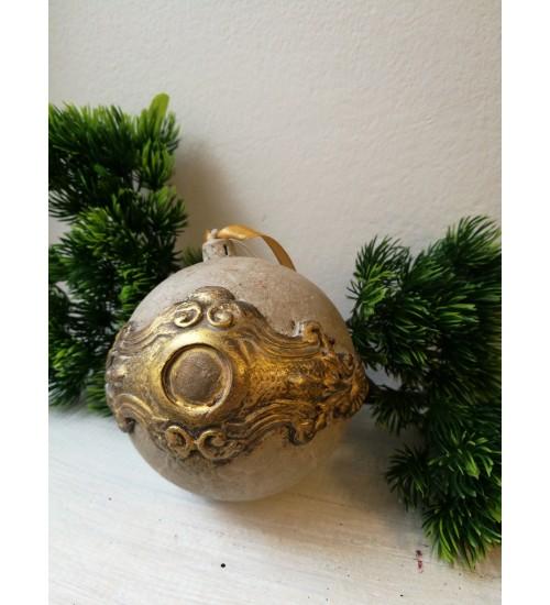 Jõulukuul Ornamentidega, hall