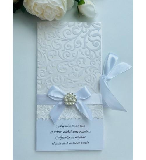 Elegantne õnnitluskaart rahataskuga
