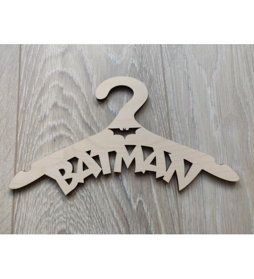 """Puidust riidepuu lapsele""""Batman"""""""