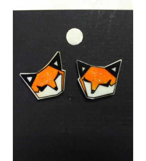 Pisemad Sleepy Fox kõrvarõngad