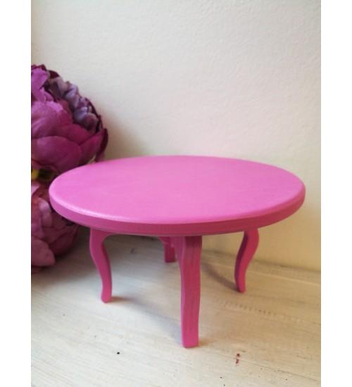 Roosa laud, nukumööbel