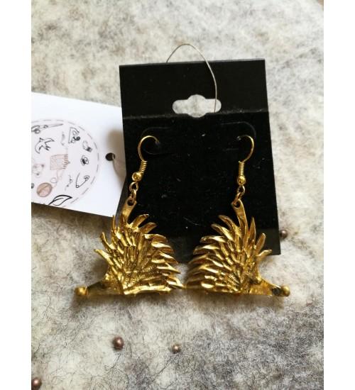 Kuldsed siili kõrvarõngad