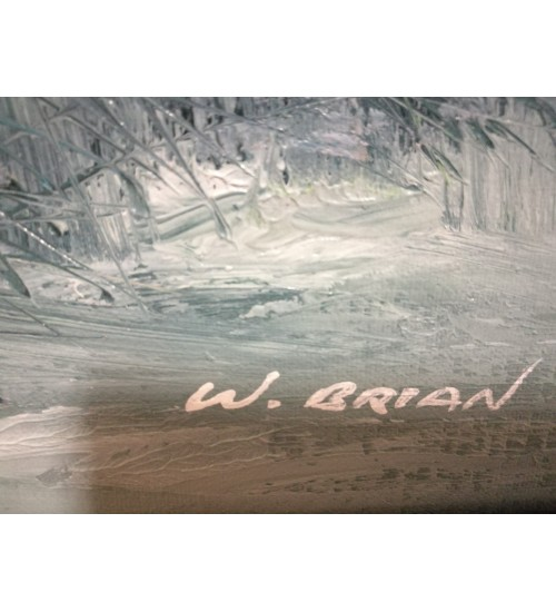 W. Brian rannikumaal, õli
