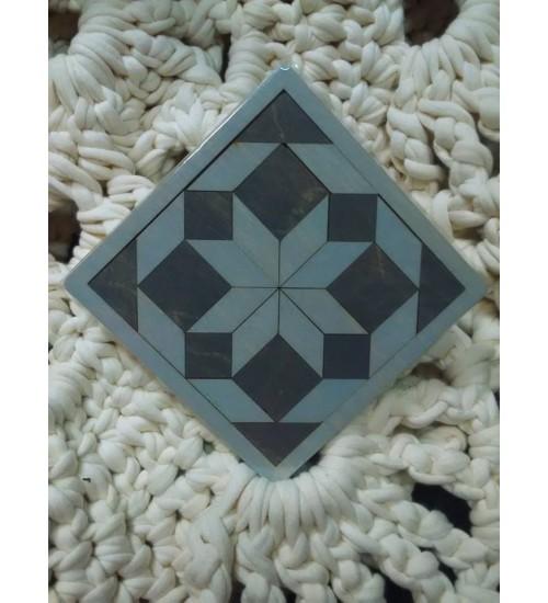 Tangram sinine kaheksakand