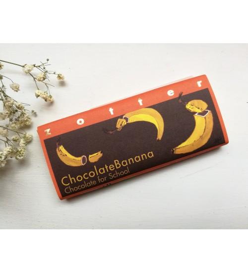 """Täidisega šokolaad """"Chocolate Banana - Chocolate for School"""""""